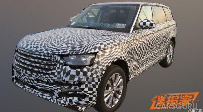 Скоро дебютирует флагманский паркетник Zotye с внешностью Range Rover