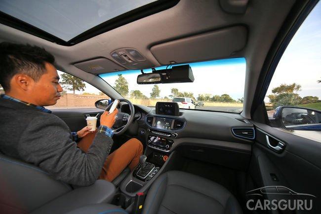 Через три года серийный автомобиль Hyundai сможет ездить без водителя