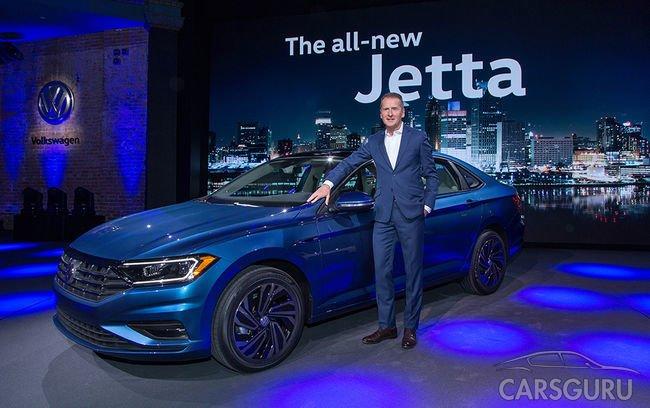 Состоялся мировой дебют новой генерации Volkswagen Jetta