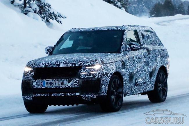 Премиальный Range Rover получит трехдверную версию
