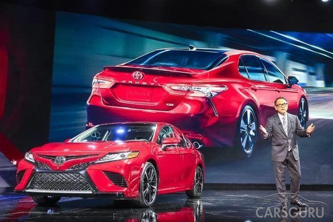 Новая генерация Toyota Camry прибудет в Россию к концу этого года