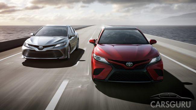 Раскрыта линейка моторов нового поколения Toyota Camry для России