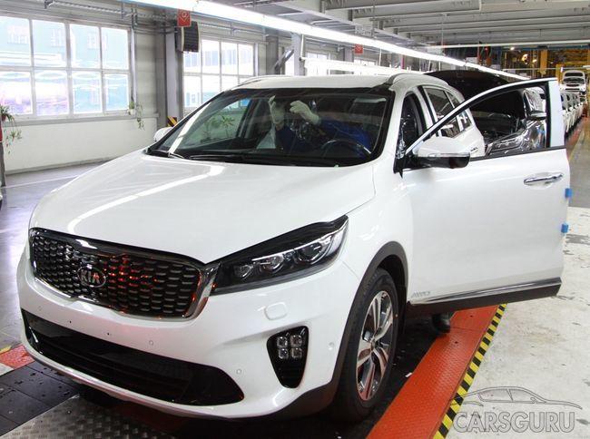 На заводе Автотор запущено производство рестайлингового KIA Sorento Prime