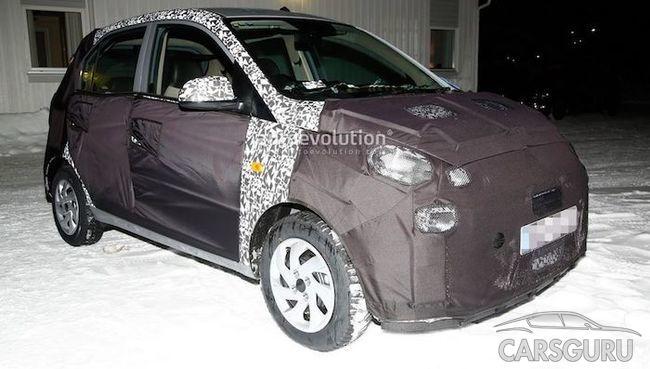 Первые фото новой малолитражной модели от Hyundai