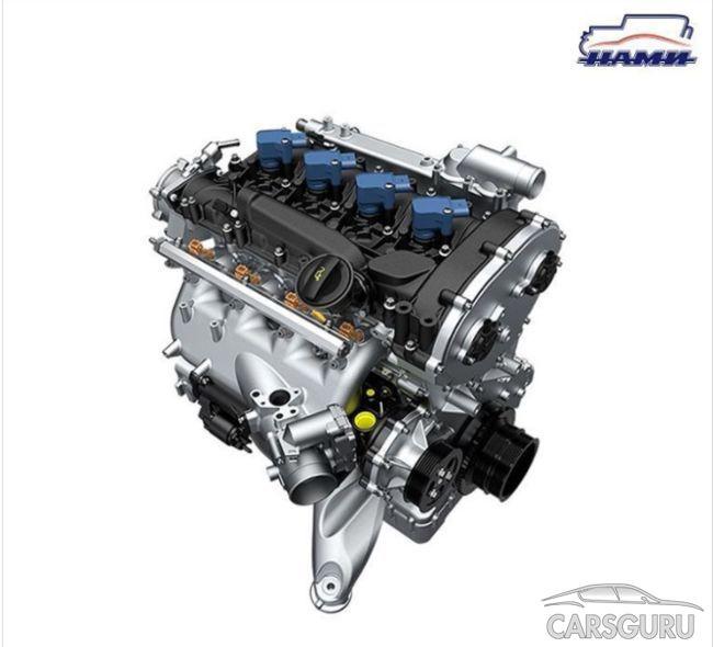 Новый мотор отечественного производства: 2,2-литровый с мощностью 245 л.с.