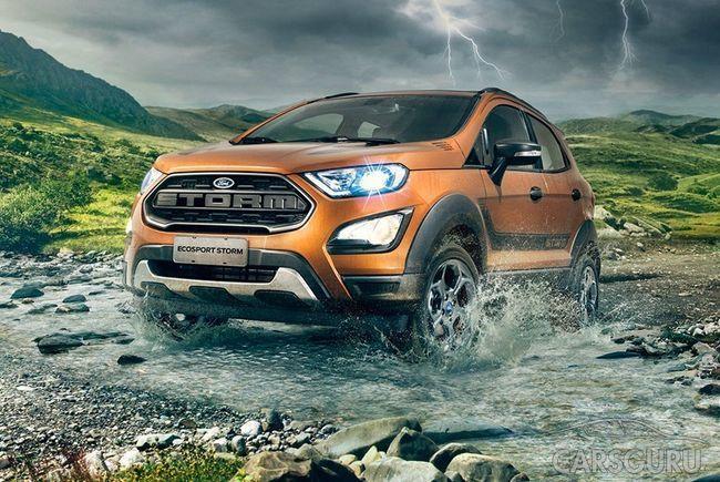 Ford представил полноприводный кроссовер EcoSport Storm