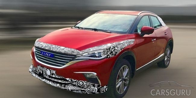 Zotye проводит испытания клона Mazda CX-4