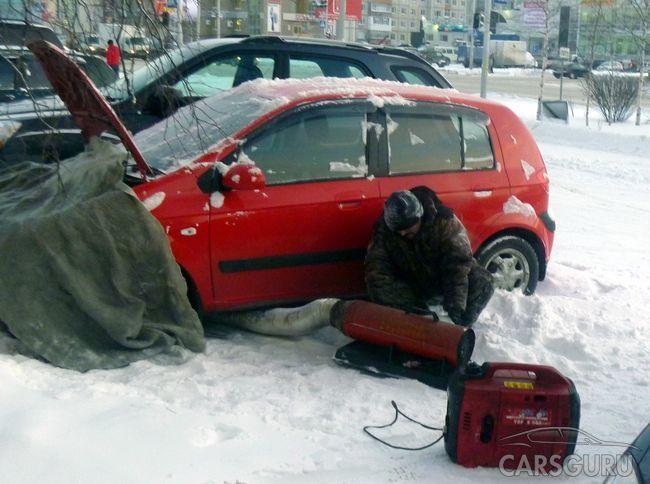 Мнение экспертов: прогрев автомобиля зимой вредит двигателю