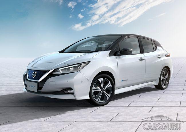Названы цены европейской версии Nissan Leaf новой генерации