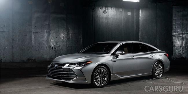 Toyota продемонстрировала новую генерацию седана Avalon