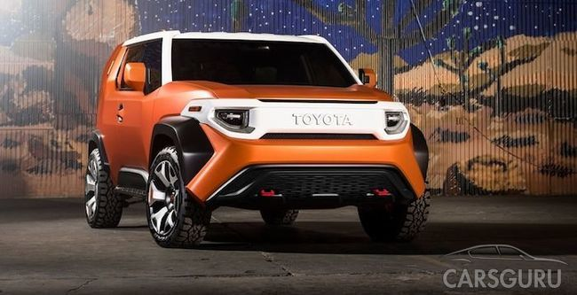 Toyota планирует создать приемника внедорожника FJ Cruiser