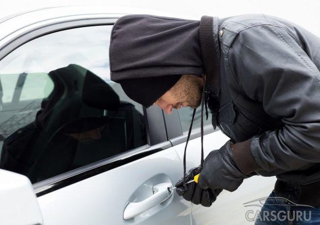 Эксперты представили список наиболее угоняемых марок авто в РФ за 2017 год