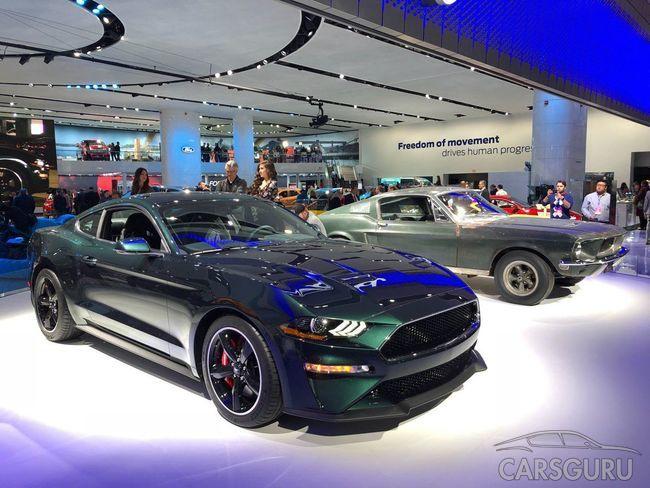 Ford разработал уникальный Mustang по мотивам фильма Bullitt