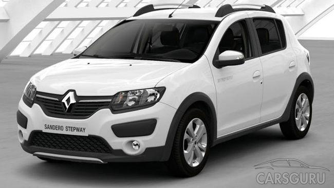 Renault подняла ценник моделей Logan, Sandero и Sandero Stepway