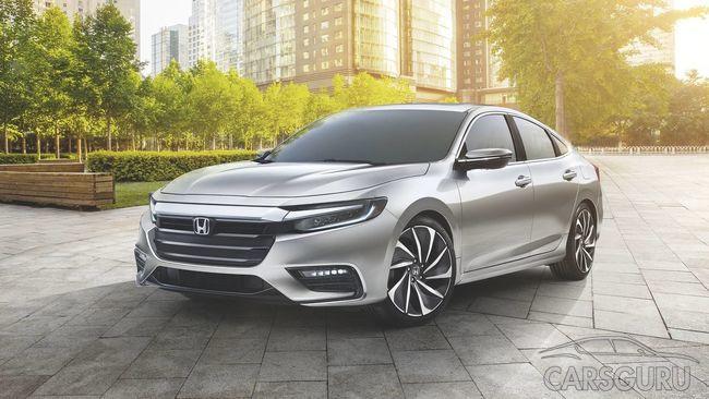 Honda полностью рассекретила гибридный Insight