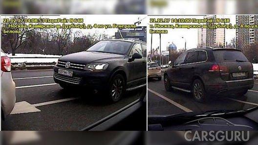 В Москве простаивая в пробке можно получить штраф за неправильную парковку