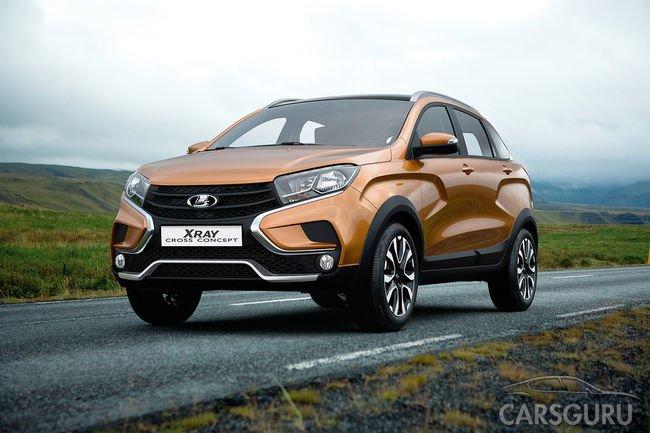 Ожидается появление кроссовой версии Lada XRAY