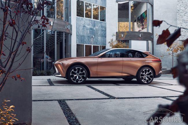 Состоялся дебют флагманского паркетника Lexus