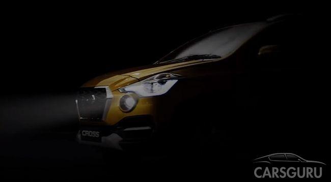 Появился тизерный ролик первого паркетника от Datsun