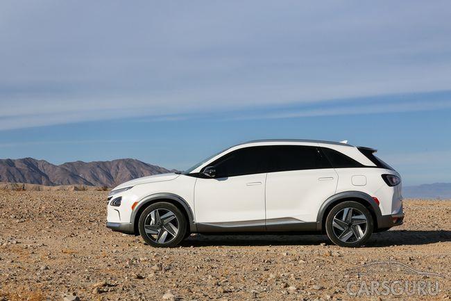 Hyundai представили первый кроссовер на топливных элементах
