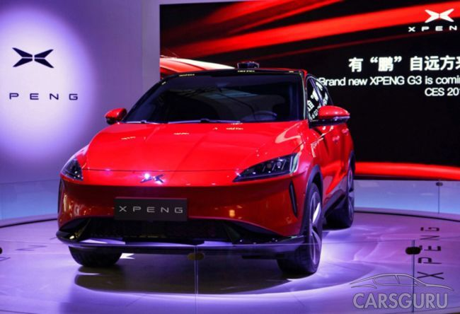 На автовыставке CES 2018 показали электрический паркетник Xpeng G3