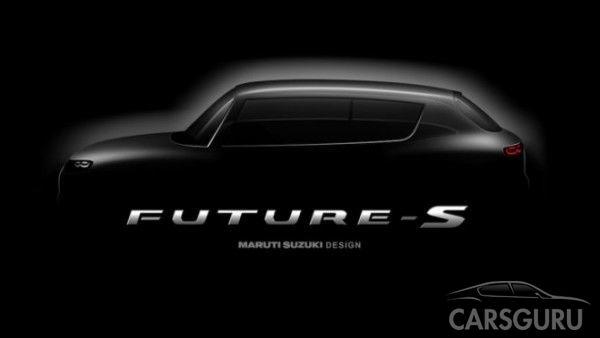 Опубликован второй тизер паркетника Suzuki Future-S