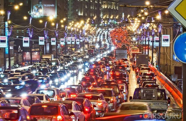 Ученые разработали новый способ борьбы с пробками на дороге