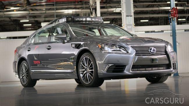 Toyota представит беспилотник Platform 3.0 новой генерации