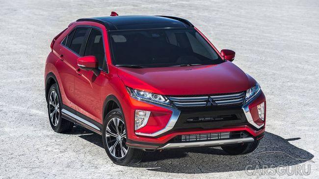 Mitsubishi рассекретил детали Eclipse Cross