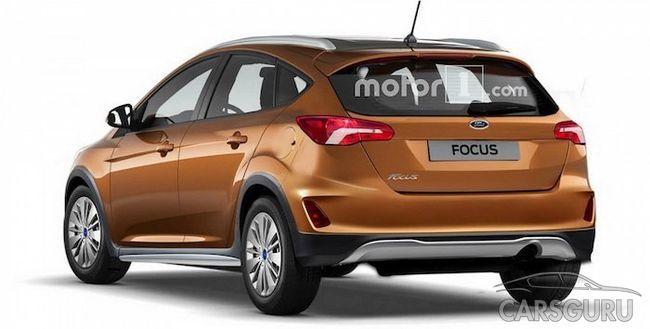 Появился первый рейдер кроссовой модификации Ford Focus