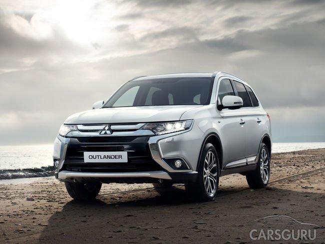Mitsubishi сделает Outlander доступней: новые виды оснащения модели
