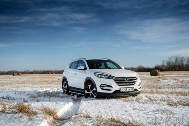 Абсолютно новые комплектации Hyundai Tucson