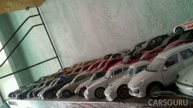 В Туле продается коллекция моделек Porsche за 10 000 000 рублей