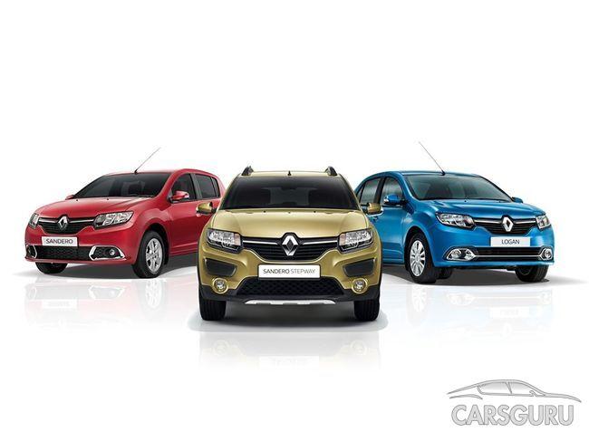 Renault предлагает дополнительную выгоду на покупку моделей в январе