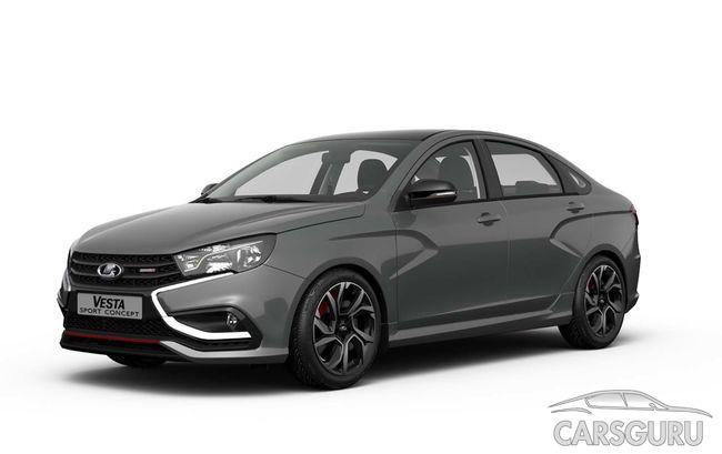 Интерьер Lada Vesta Sport будет повторять прототип