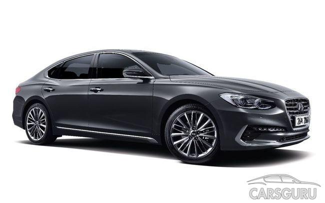 Hyundai может представить на российском рынке крупный седан