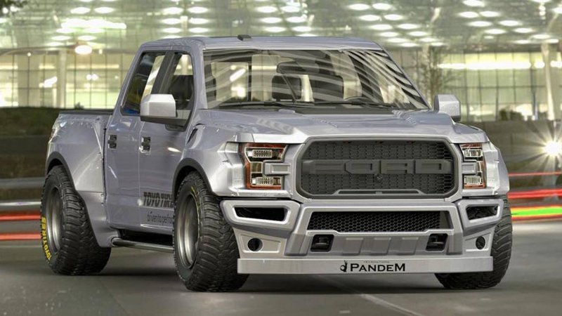 Ford F-150 Raptor Rocket Bunny от мастерской Pandem rocketbunny tra-kyoto