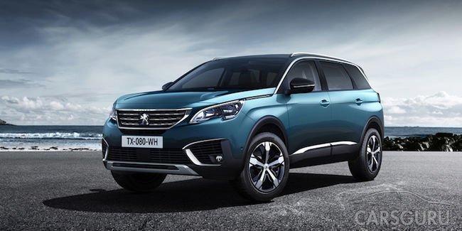 Флагманский паркетник Peugeot 5008 появится на российском рынке уже весной