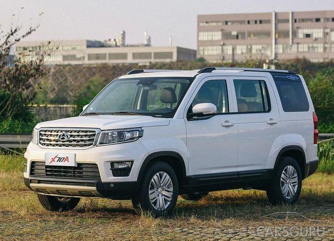 Бюджетный кроссовер от Changan: начались продажи копии Land Rover Discovery