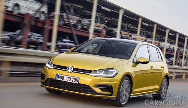 Названа дата выпуска Volkswagen Golf новой генерации