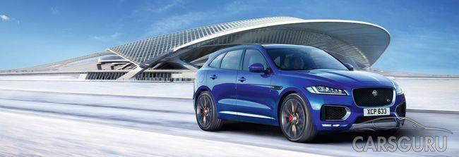 Новый Jaguar F-PACE 2016 года с выгодой 1 320 000 рублей в АВИЛОН