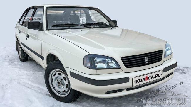 Рендеры рестайлингового Москвича-2141 представили в сети