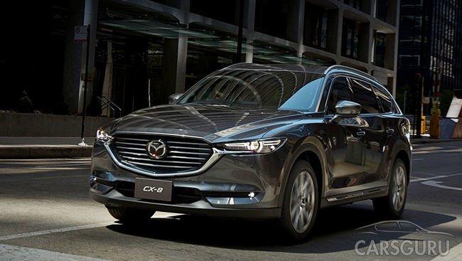 Более 7 000 кроссоверов Mazda CX-8 приобрели в прошлом месяце
