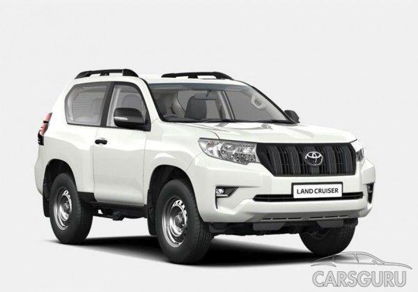 Комплектации Toyota Land Cruiser Prado дополнились новым бюджетным вариантом
