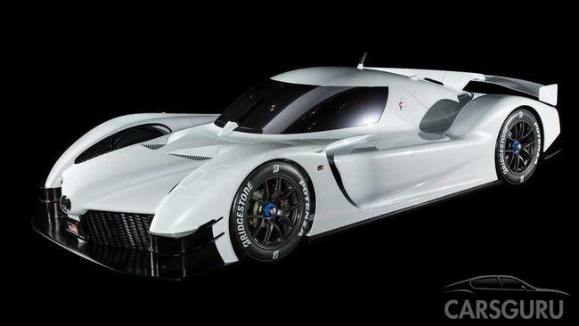 Toyota показала внешность 1000-сильного спорткара GR Super Sport Concept
