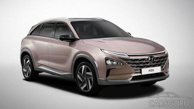 Скоро Hyundai представит новый водородный паркетник