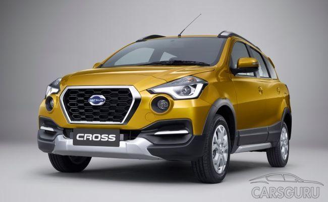 Datsun представил свой новый флагманский кроссовер CROSS