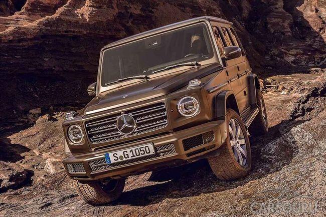 Первые шпионские снимки нового Mercedes-Benz Gelendvagen