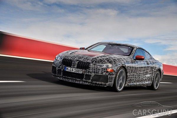 BMW представила тизер нового купе 8-Series