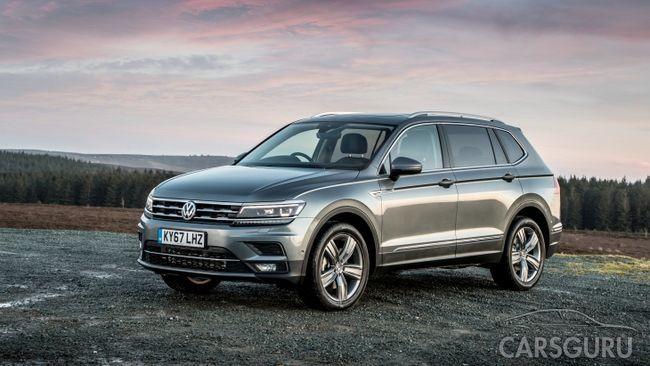Volkswagen огласил цены внедорожника Tiguan Allspace